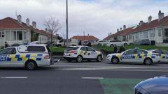 Police on Great North Road, Grey Lynn. (Photo / Supplied)