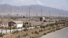 """The U.S. left Afghanistan's Bagram Airfield after nearly 20 years, winding up its """"forever war,"""" in the night, without notifying the new Afghan commander until more than two hours after they slipped away. (Photo / AP)"""