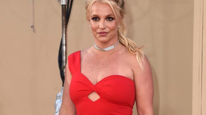 Britney Spears made her long-awaited court appearance in her conservatorship battle. (Photo / Twitter)