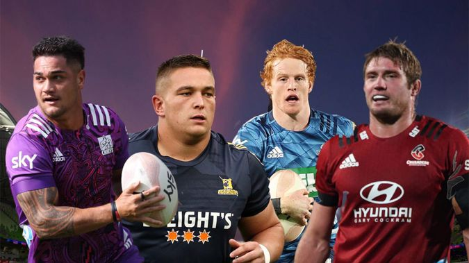 Quinn Tupaea, Ethan de Groot; FInlay Christie and Ethan Blackadder have made the All Blacks. (Photo / Getty Images)