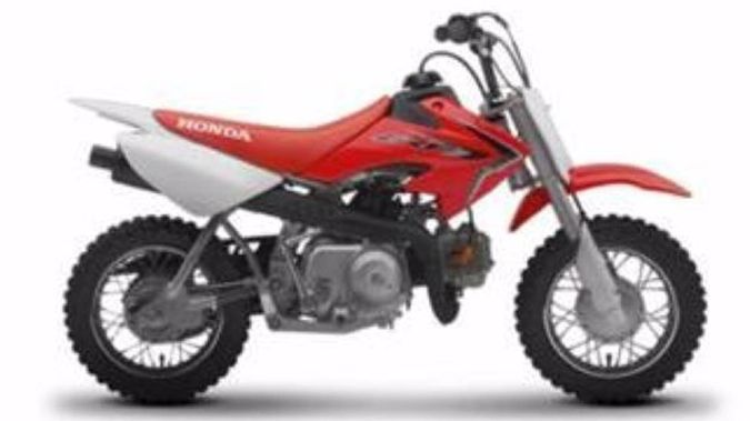 Police are looking for a 2019 Honda CRF50 like this one. (Photo / NZ Police)