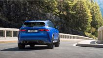 Murph takes Mike for a spin in new Jaguar F-Pace SVR