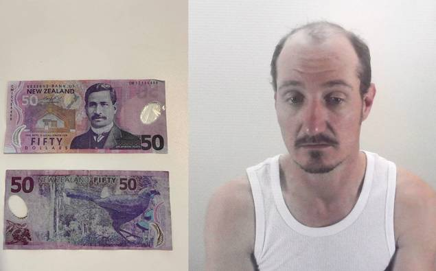 Man who made and spent fake $50 notes nabbed by an off-duty cop