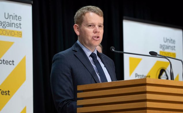 Covid-19 Response Minister Chris Hipkins, who is also the Education Minister. (Photo / Mark Mitchell)