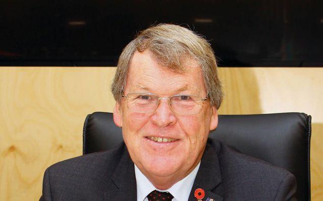 Waipa Mayor Jim Mylchreest. (Photo / Otago Daily Times)