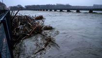 Canterbury floods: Ashburton shut off, main bridge slumping