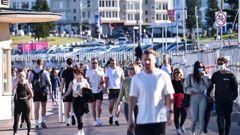 Crowds at Bondi Beach. Photo / News Corp Australia