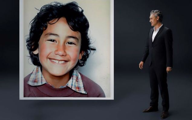 Taika Waititi speaks to his younger self in the campaign video. (Photo / Unteach Racism)