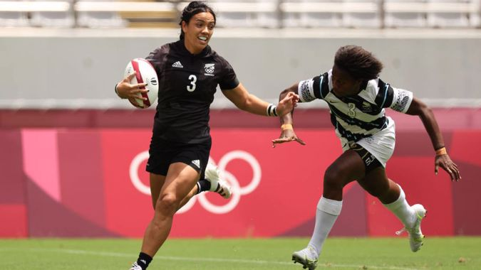 Playing for gold! Black Ferns Sevens survive extra-time scare