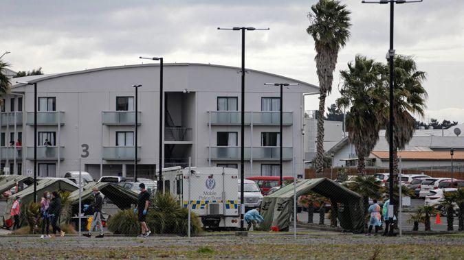 The Jet Park quarantine facility in Auckland. (Photo / Alex Burton)