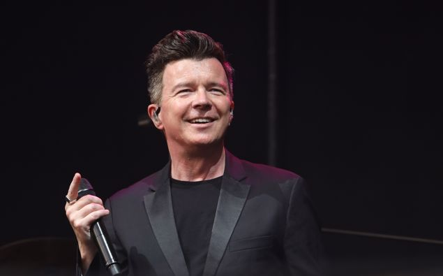 Rick Astley's song 'Never Gonna Give You Up' is being used to push away homeless people from a Christchurch Ray White firm. (Photo / Getty)