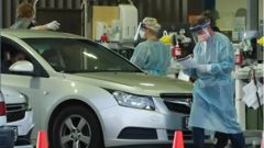 Covid testing has ramped up at Caloundra after news of a Victorian woman testing positive in the holiday town. (Photo / NCA)