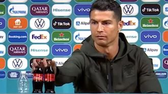 UEFA issues stern response after Cristiano Ronaldo's Coca-Cola stunt goes viral