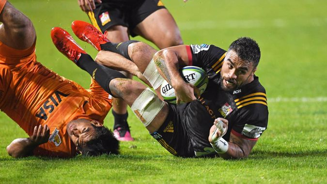 Liam Messam in action for the Chiefs. (Photo / Photosport)