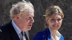 Carrie Johnson has posted on Instagram that she and Prime Minister Boris Johnson are expecting a second child together. (Photo / Getty Images)