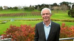 Sir George Fistonich founded Villa Maria Estate winery in 1961. (Photo / Brett Phibbs)
