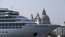Italy to ban mammoth cruise ships from Venice