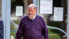 Former Scouts leader Graeme Charles Lindsay outside court after an earlier appearance. (Photo / Michael Craig)