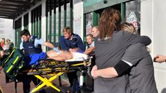 Four people were injured, three critically. Photo / Otago Daily Times