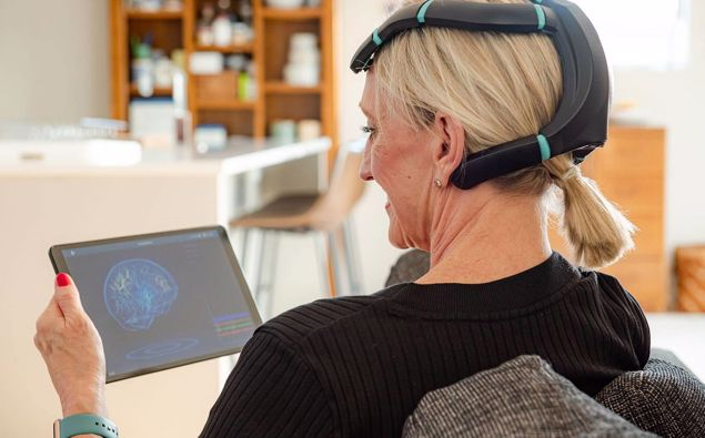 A New Zealand-based health tech company Exsurgo has created a medical device, called Axon, which is being tested on 116 chronic pain patients across Auckland. (Photo / Supplied)
