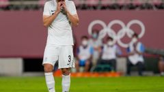 Liberato Cacace missed a penalty for the Oly Whites. (Photo / Photosport)
