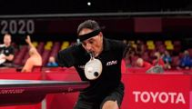 'This is incredible': Armless table tennis player wows at Paralympics
