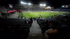 There were plenty of empty seats at Eden Park. (Photo / Dean Purcell)