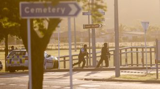 Napier gunman admits opening fire in Park Island standoff