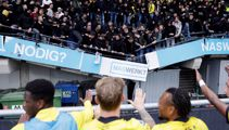 Watch: Stand collapses as football fans celebrate win