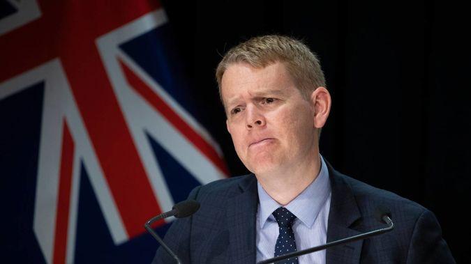 Covid Response Minister Chris Hipkins. (Photo / Mark Mitchell)