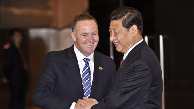 'He calls me a friend and I think he sort of means that.' John Key. (Photo / File)
