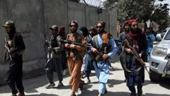 Graphic images of Taliban attacks on journalists in Afghanistan have been shared after five reporters were arrested. (Photo / AP)