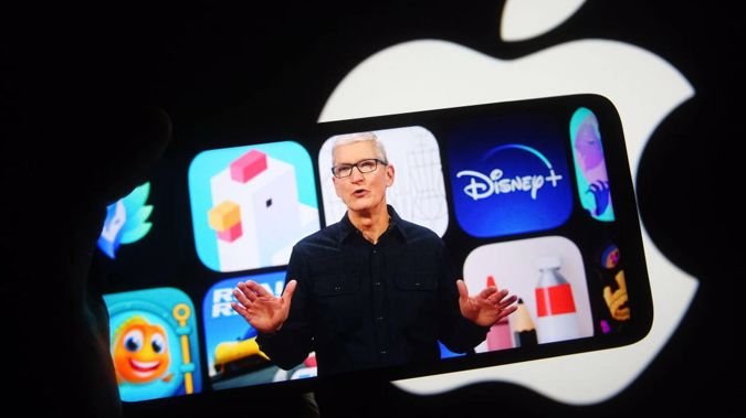 Apple CEO Tim Cook at his company's virtual Worldwide Developers Conference in June. (Photo / Getty Images)