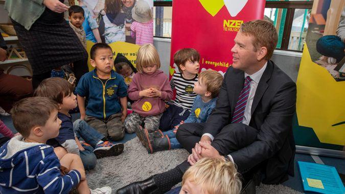 Education Minister Chris Hipkins. (Photo / Mark Mitchell)