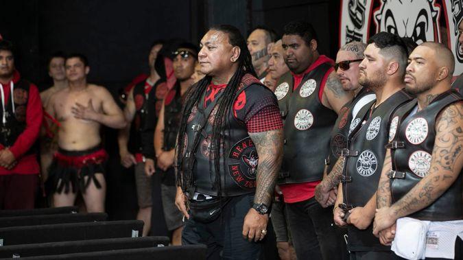 President of the Waikato Mongrel Mob Kingdom Chapter Sonny Fatupaito in November 2019. (Photo / Alan Gibson)