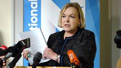 National Party leader Judith Collins is calling for the Auditor-General to investigate recent funding decisions. (Photo / Mark Mitchell)