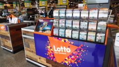 Countdown Pokeno sold the winning $42 million Lotto ticket. (Photo / Dean Purcell)