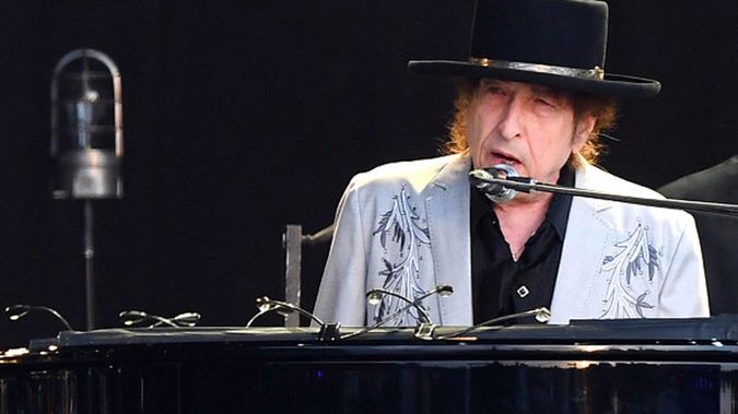 Bob Dylan performs on a double bill with Neil Young at Hyde Park on July 12, 2019 in London, England. (Photo / Getty Images)