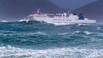 Journey from hell - ferry headed for Picton forced to return to Wellington
