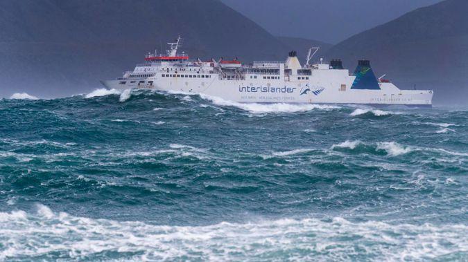 An Interislander ferry. Photo / Mark Mitchell