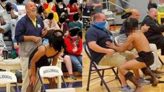 Photos show what appear to be a student giving someone a lap Photos show what appear to be a student giving someone a lap dance at a homecoming week event that included a 'Man Pageant'. (Photo / Facebook)dance at a homecoming week event that included a 'Man Pageant'. Photo / Facebook