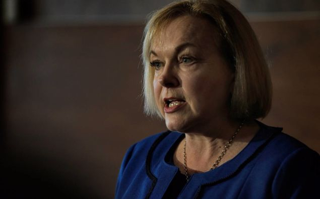 National leader Judith Collins wants Police Minister Poto Williams to quite. (Photo / File)