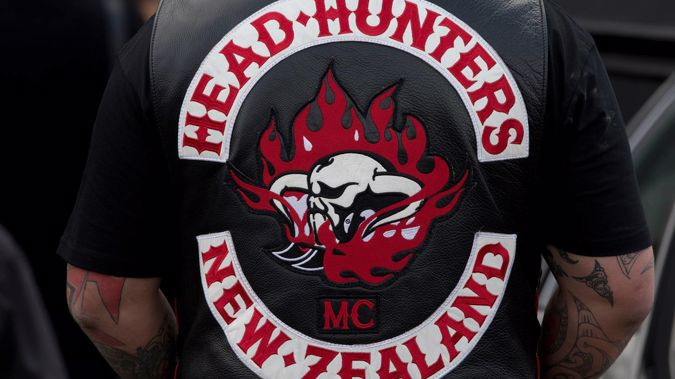 Police are investigating a patched member of the Head Hunters gang who allegedly lied to get through the southern border to attend a Filtht Few gang member's funeral. Photo / NZH