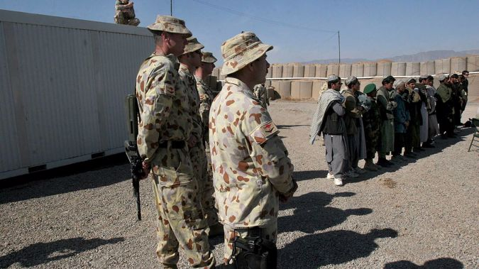 Australian soldiers at the Tarin Kowt military base in Uruzgan province, south of Kabul, Afghanistan in 2007. Photo / Musadeq Sadeq, AP, File
