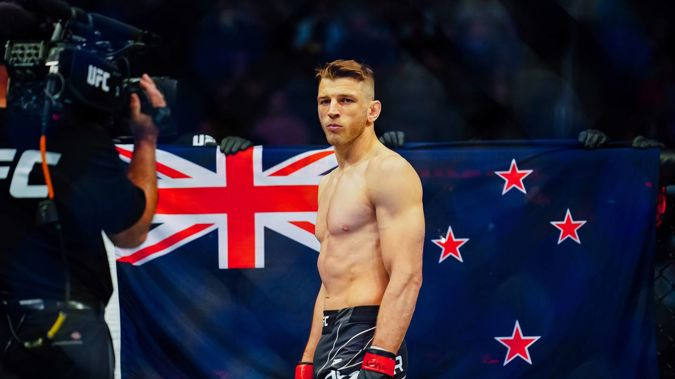 Dan Hooker made his return at UFC 266 at the weekend. (Photo / Getty Images)