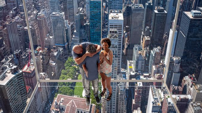 Manhattan's Summit One Vanderbilt tower is launching two exciting new thrill seeking attractions in October. (Photo / Supplied via CNN)