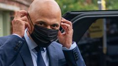 UK Health Secretary Sajid Javid has tested positive for Covid-19 and is now self-isolating. Javid has had two doses of vaccine and says his symptoms are mild. Photo / AP