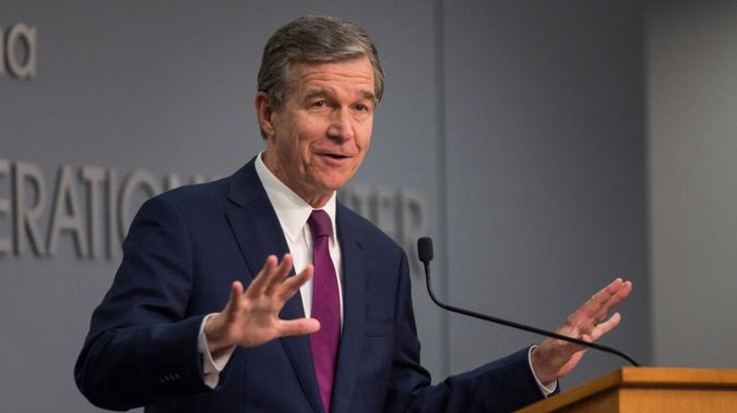 North Carolina Governor Roy Cooper is expected to sign the legislation that would raise the age of marriage from 14 to 16. (Photo / AP)