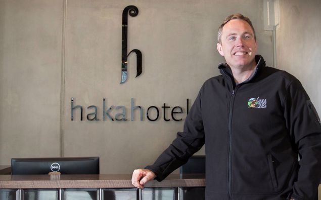 Haka Tours chief executive Ryan Sanders. (Photo / Nick Reed)