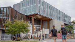 Massey University's Wellington campus. (Photo / Supplied)